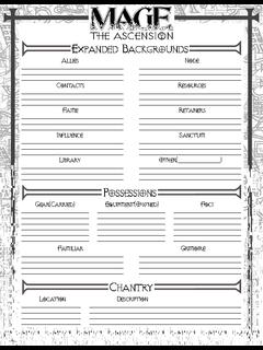 Alicancs Character Sheet Depot